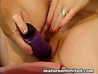 Big Dildo Big Pussy Moms Masturbating