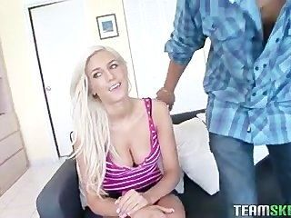 Busty Blonde Babe Vicky Vee Got Fucked Hard By Her Own Boyfriend