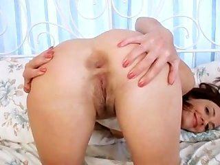 Hot Milf Dildo Fucks Her Wet Cunt