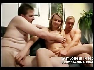 Blows Her Man While Getting Blasted From Behind