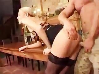 German Porn: Boss Gets A Huge Cock
