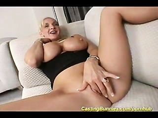 Busty Milf Anal Casting