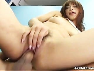Japanese Babe Mika Mizuno Is Fucking For Creampie