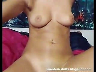 She Is Just Perfect !! Horny Camgirl Plays With Herself