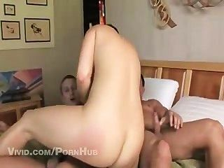 Natasha Gets Fucked By Two Big Dicks