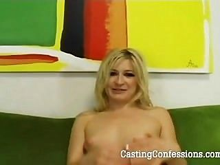 24 Yo Heather Gables Is Casted For Porn