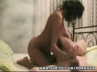 Amateur Milf Homemade Blowjob And Fuck With Cum