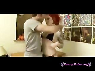 Redhead Misti Dawn Fucks Tattoo Artist