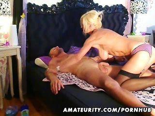 Busty Amateur Escort Sucks And Fucks With Cum On Ass