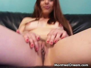 Amateur Red Head Fingers Her Tight Pussy