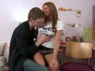Russian Teen Loves Anal.
