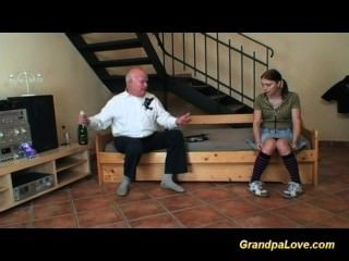 Grandpa In Love With Young Teen