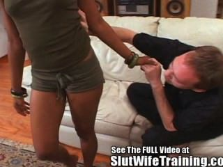 Hot Black Wife Trained To Fuck!