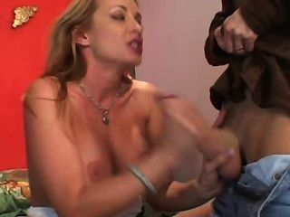 Gigilo Satisfies A Sexy Mature Blonde