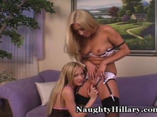Naughty Girls Bring Each Other To Orgasm