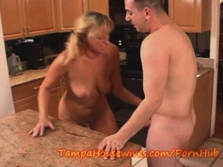 Cheating Babe Milf Fucked In The Kitchen