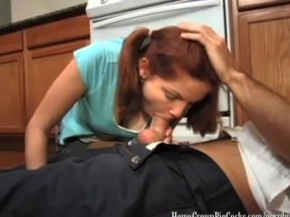 Phoebe Gets Her Plumbing Fixed By A Big Cock