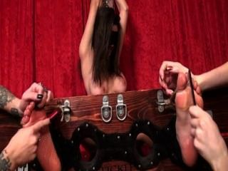 Barely Legal Lisa Tickle Tortured Without Any Break !!!!