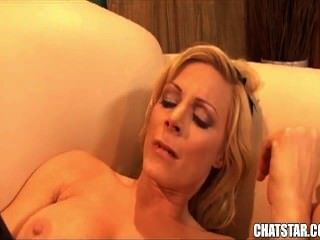 Amazing Blonde Babe Gets Fucked Hard And Tastes Cum From Big Cock
