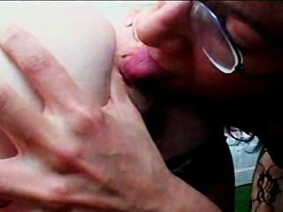 Oldschool Lesbos Tongue Pleasing