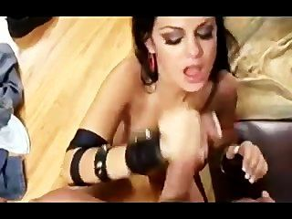 Angelina Getting Her Pussy Slammed