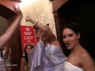 Horny Girls Banging In Halloween Masks