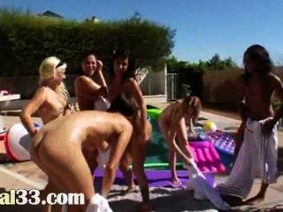 Perfect Group Butthole Sex Outdoors