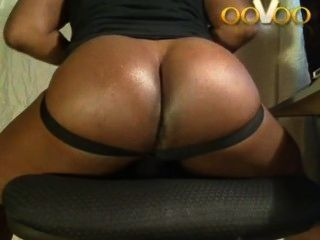 Oovoo Webchat Showing Big Black Ass