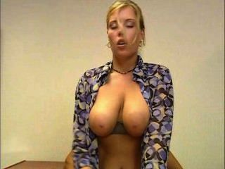 Krystal Secretary With Big Boobs Fucked In The Ass