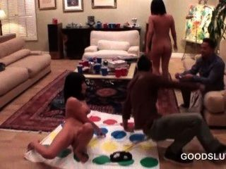 Drunk Naked Hot Girls Playing Sex Games At A Orgy Party