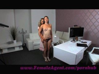 Femaleagent. Milf Strikes It Lucky With A Vision Of Beauty