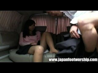 Japanese Foot Worship 10