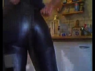 My Perfect Ass In My Favorite Miss Sixty Oneway Leather Pants