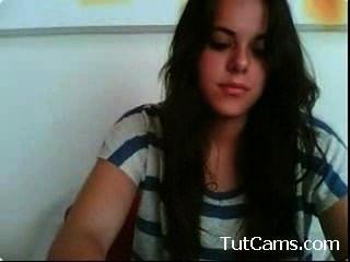Cute Teen Girl Masturbating On Webcam