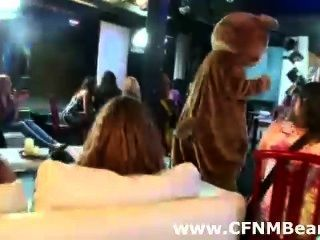 Cfnm Babes Go Wild For Male Strippers