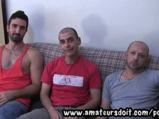 Meet Marco Sam And Lucas: Three Hot Amateur Australian Men