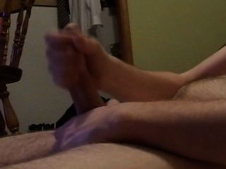 Long Self Stroke And Long Cumshot
