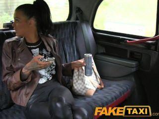 Faketaxi Free Ride For Backseat Blowjob