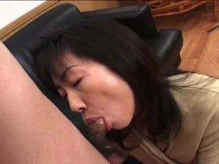 Great Milf Asian Blowjob