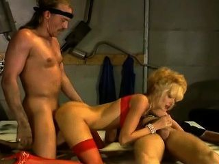 Dolly Gets Hard Pounded In All Three Holes