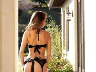 Luxury Black Panties On Beautiful Babe