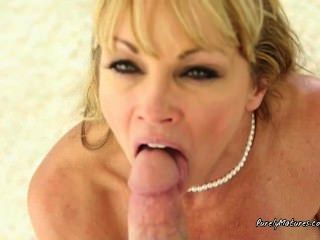 Housewife With Cock In Mouth And Pussy