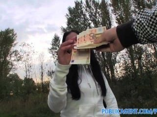 Publicagent Hd Long Black Haired Girl Fucked Outdoors