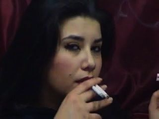 Girl Smoking 4 At Once