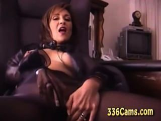 Excelent Mature Play With Toys On Webcam