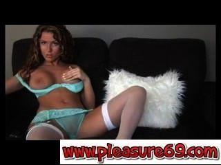 Amazing Milf Cristine With Stockings-pleasure69.com