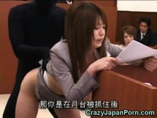 Invisible Guy Fucks Sexy Lawyer!