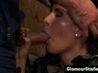 Hungry Glam European Fetish Hottie