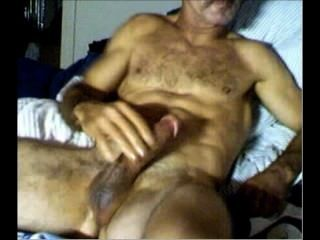 Hot Daddy! Lean Furry Tight Bod! 6 Pack - Big Cock