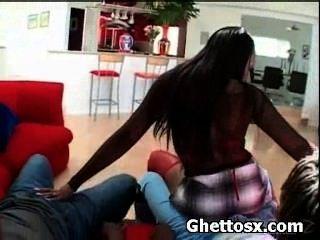 Ghetto Ebony Nasty Screwed